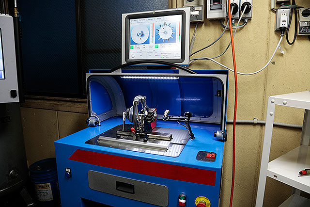 バランス測定機